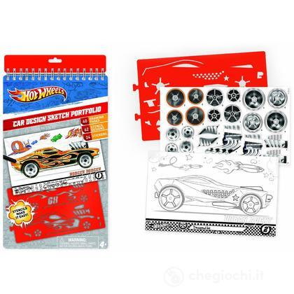 Hot Wheels Compact Sketch Portfolio Set da disegno (FA46802)