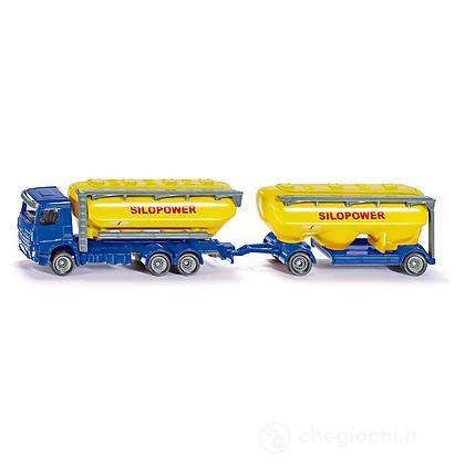 Camion Lkw con Silos Foraggi 1:87 (1809)
