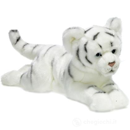 Tigre Bianca sdraiata piccola