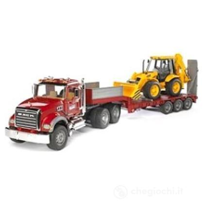 Camion articolato più bulldozer caterpillar (2813)