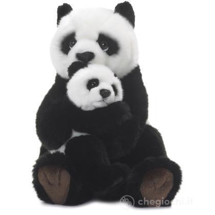 Panda madre e cucciolo