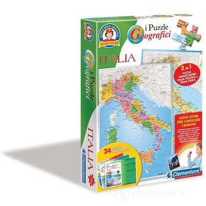 Puzzle Geografici Italia