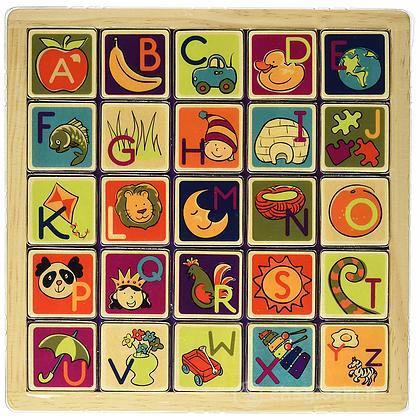 Magnetic Alphabet Puzzle