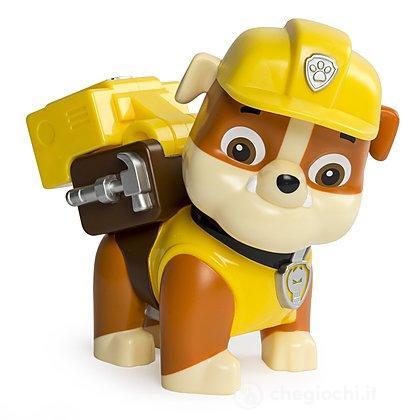 Rubble Paw Patrol - Jumbo Action Pup giallo