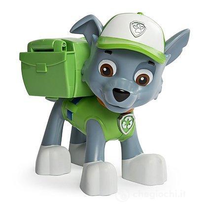 Rocky Paw Patrol - Jumbo Action Pup verde