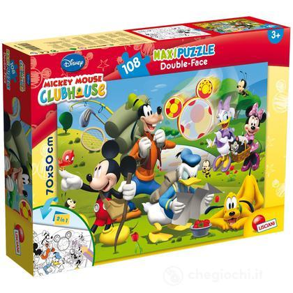 Puzzle Double Face Supermaxi 108 Mickey