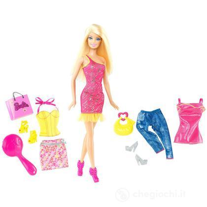 Barbie con accessori (X4861 )