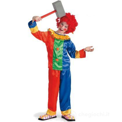 Costume Clown In Busta taglia IV (65830)