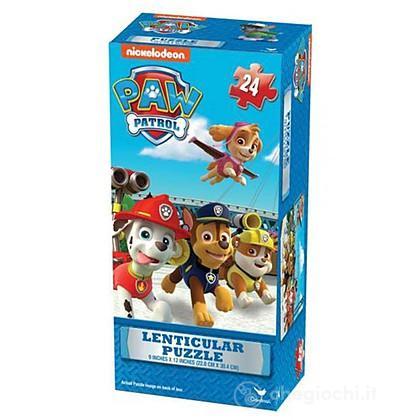 Paw Patrol lenticular puzzle tower box