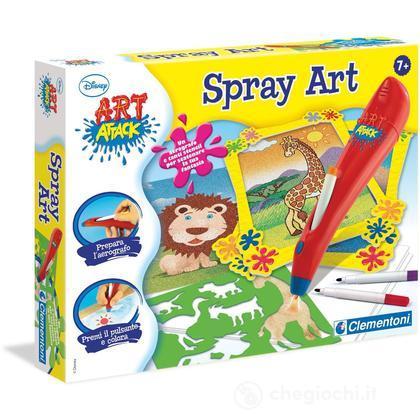 Art Attack - Spray art