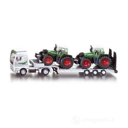 Camion con rimorchio e trattori 1:87