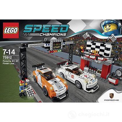 Linea del traguardo Porsche 911 GT - Lego Speed Champions (75912)