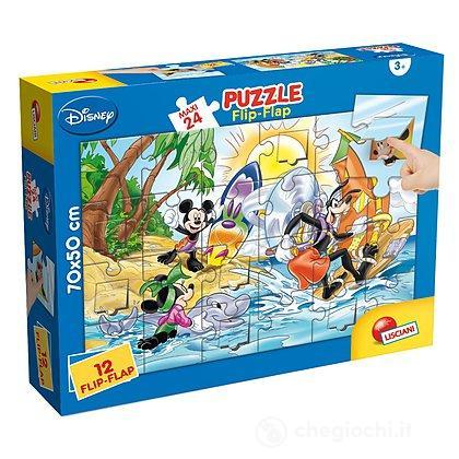 Puzzle Maxi Flip-Flap 24 Mickey
