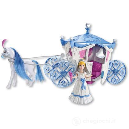 La carrozza nozze da favola Cenerentola Small Dolls (X2840)