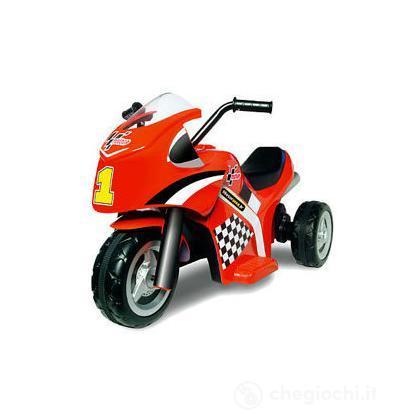 Moto 3 ruote moto gp colore rosso (498541)