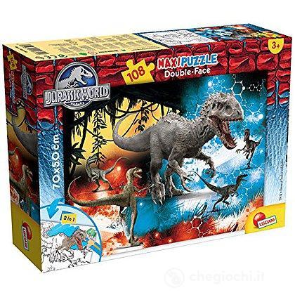 Jurassic Fury Puzzle DF Supermaxi 108 Pezzi