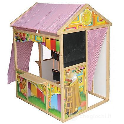 Casa Mercatino in legno
