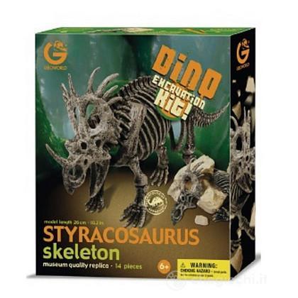 Styracosaurus Scheletro