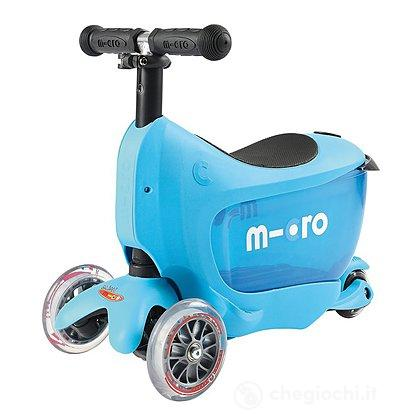 Mini2Go Blu- Monopattino 2 in 1