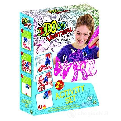 I Do 3D Gioco Vertical Activity Set con 2 Penne 3D