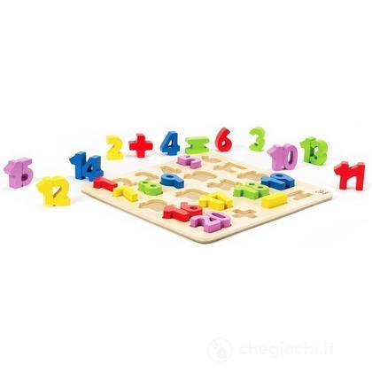 Puzzle numeri 1 - 20