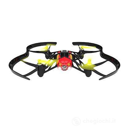 Drone Airborne Night Blaze Con Luci Led e Fotocamera - Rosso