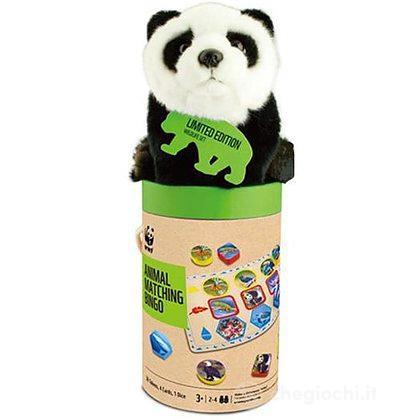 SET PANDA: Tombola + peluche Panda (19 cm)
