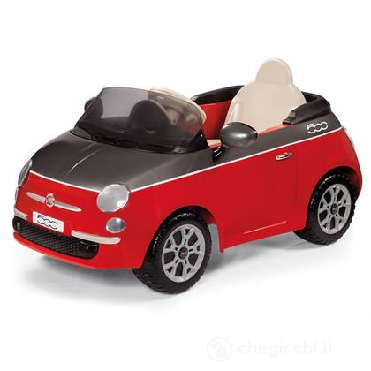 Auto Fiat 500 Rossa-Grigia 1Mo.6V (ED1161)