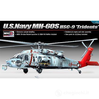 "Aereo U.S. Navy Mh-60s Hsc-9 ""Tridents"" (AC12120)"