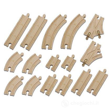 Chuggington Chuggington Set di costruzioni in legno per binari ferroviari