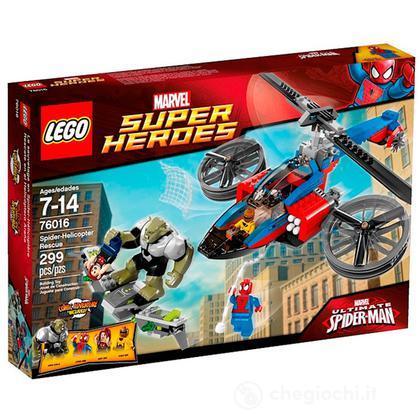 Elicottero-ragno al salvataggio - Lego Super Heroes (76016)