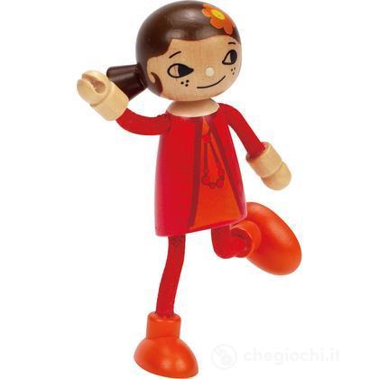 Bambola di legno Mamma (E3506)