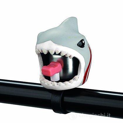 Campanello bici Crazy Safety squalo
