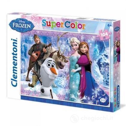 Puzzle Super Color 104 pezzi Frozen (27912)