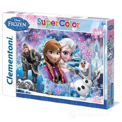Puzzle Super Color 104 pezzi Frozen (27913)