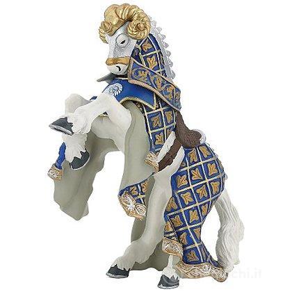 Cavallo cavaliere maestro d'armi criniera montone (39914)
