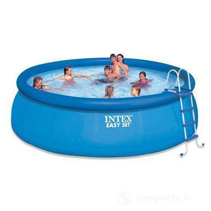 Piscina Easy Set 457X122 Cm, Pompa Filt., Scaletta, Telo Base, Copert I.1 (54916)