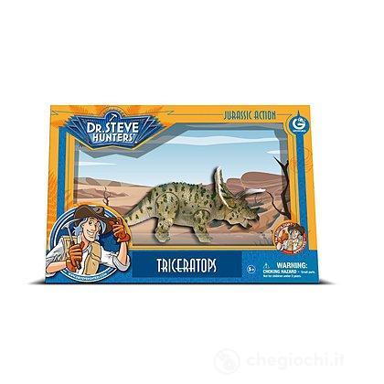 Dinosauro Triceratops Medium