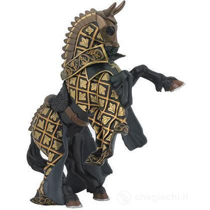 Cavallo cavaliere maestro d'armi criniera toro (39918)