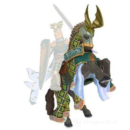 Cavallo cavaliere maestro d'armi criniera drago (39923)