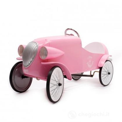 Macchina a Pedali Auto da Corsa Rosa (1924R)