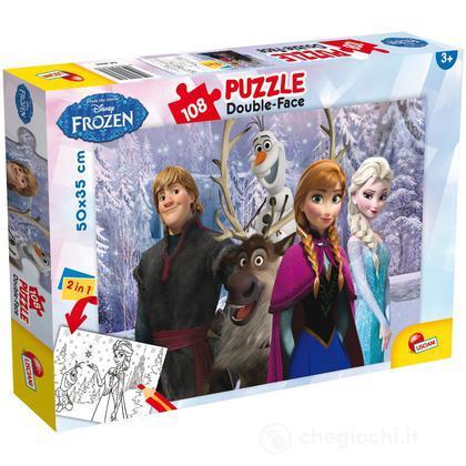 Puzzle Double Face Plus 108 Frozen My Friends
