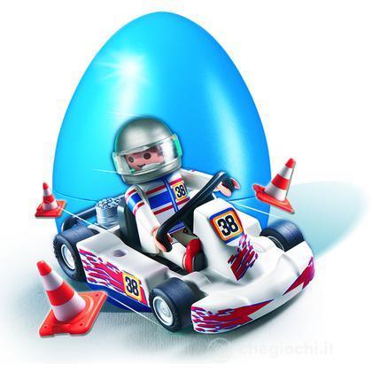 Uovo blu go-kart (4932)