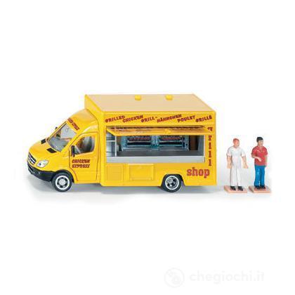 Furgone Mobil Shop 1:50
