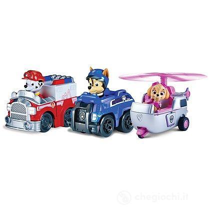 Veicoli Paw Patrol Rescue Racers. Marshall Chase Skye (6024761)