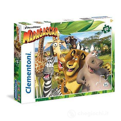 Madagascar Puzzle 60 pezzi (26944)