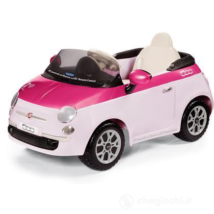 Fiat 500 remote control rosa fucsia