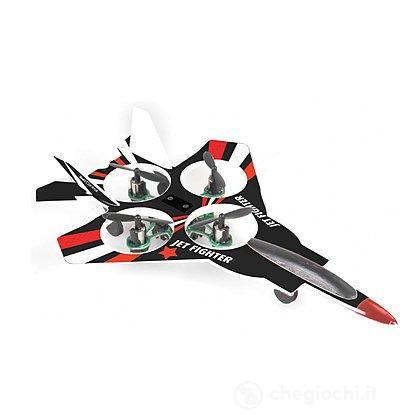 Aereo Jet-Fighter Quadricottero Radiocomandato (23946)