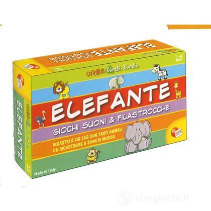 Elefantino giochi, suoni e filastrocche (39487)