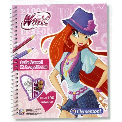 Winx Scketchbooks - Casual Metropolitano